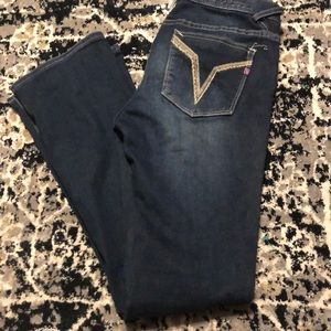 Vigoss size 28/ 33 jeans the Chelsea bootcut slim